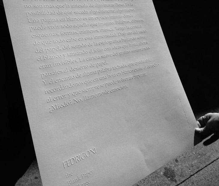 CONCURSO ¿Qué te inspira un Blank Paper?