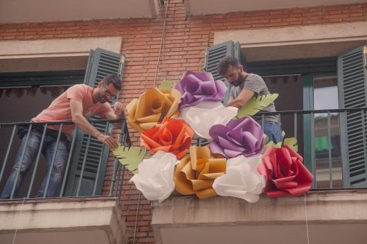 Un jardín de Good Paper crece en una fachada de Madrid