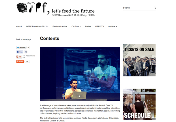 <!--:es-->Fedrigoni colaborador oficial del OFFF 2012<!--:-->