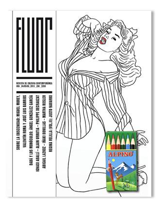<!--:es-->Colorea la portada del nuevo número de 'FLUOR', el magazine de arte y cultura<!--:-->