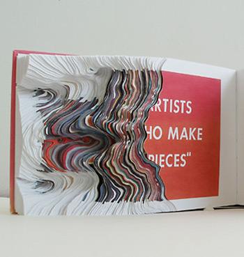 <!--:es-->Libros erosionados o transformados por Noriko Ambe<!--:-->