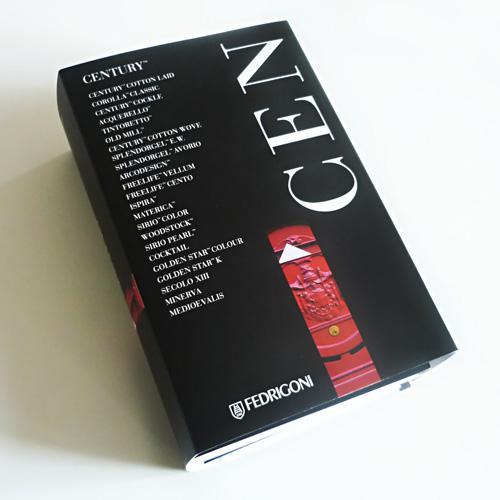 Century, nuevo catálogo con la gama completa de sobres a juego con más de 30 tipos de papeles especiales.