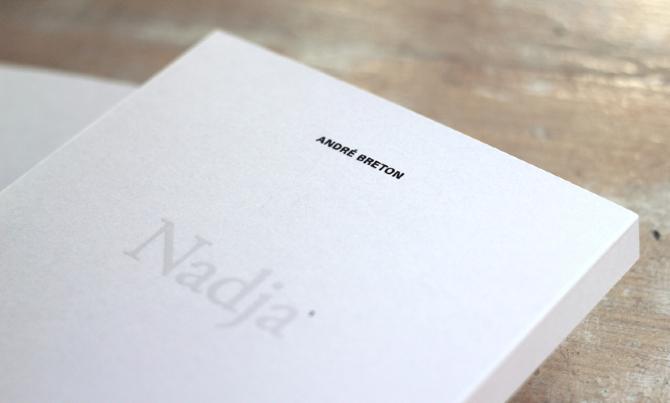<!--:es-->'Nadja', una historia de amor en París impresa sobre papel Fedrigoni<!--:-->