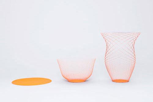 La flexibilidad del papel nos permite formas en volumen