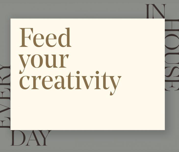 La creatividad nos une, estemos donde estemos